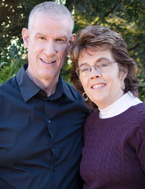 Jerry and Susy McNally, Founders and Directors of Living Hope International