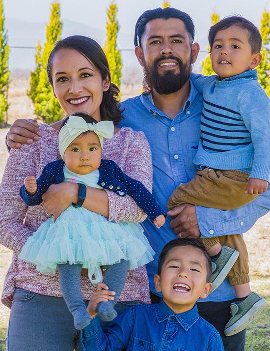 Choose to sponsor the Montero Family